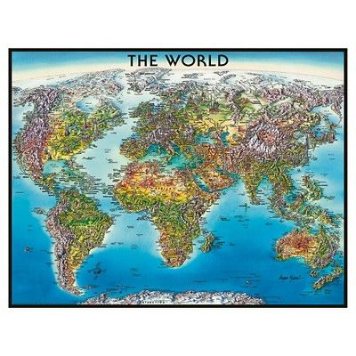 Ravensburger World Map Puzzle - 2000 Pieces