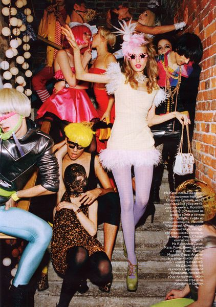 """""""Why fit in when you were born to stand out?""""--Dr. Seuss   Photography by Ellen Von Unwerth"""
