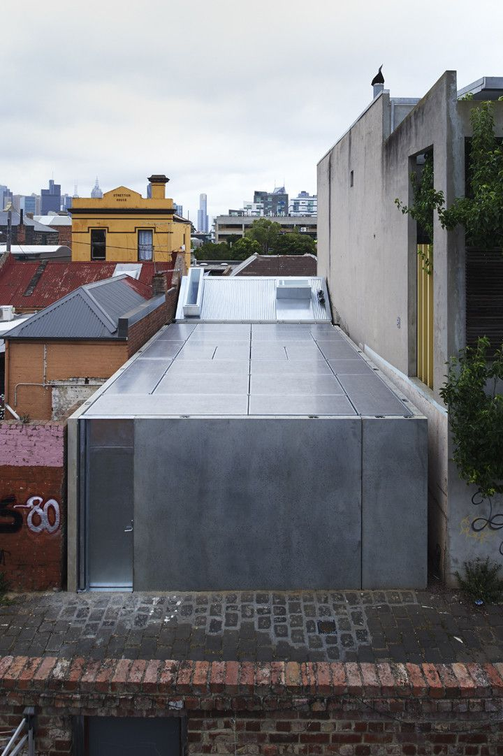 Built by Sean Godsell Architects in Melbourne, Australia with date 2014. Images by Earl Carter. Alterations and additions to a small heritage listed timber cottage in inner suburban Melbourne. Planning and heritag...