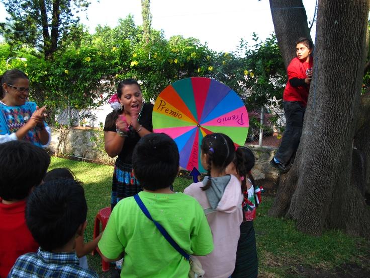 Probando nuestra suerte en la ruleta  http://www.colegio-bilingue.com