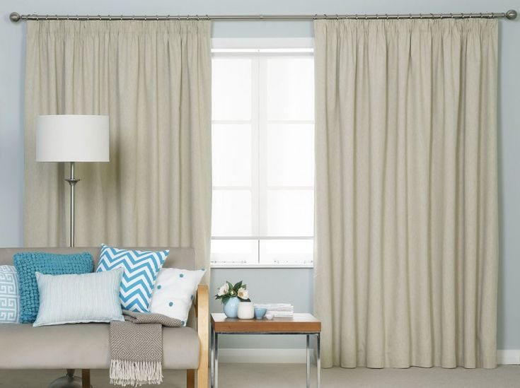 Portofino Pencil Pleat Curtains