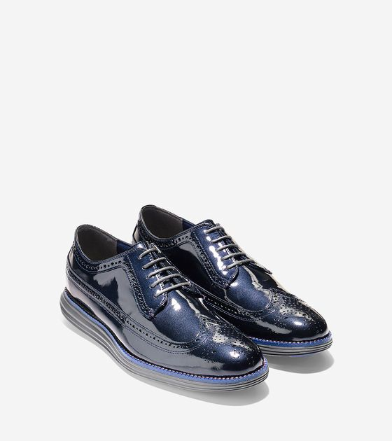 Cole Haan Grand os long wing navy
