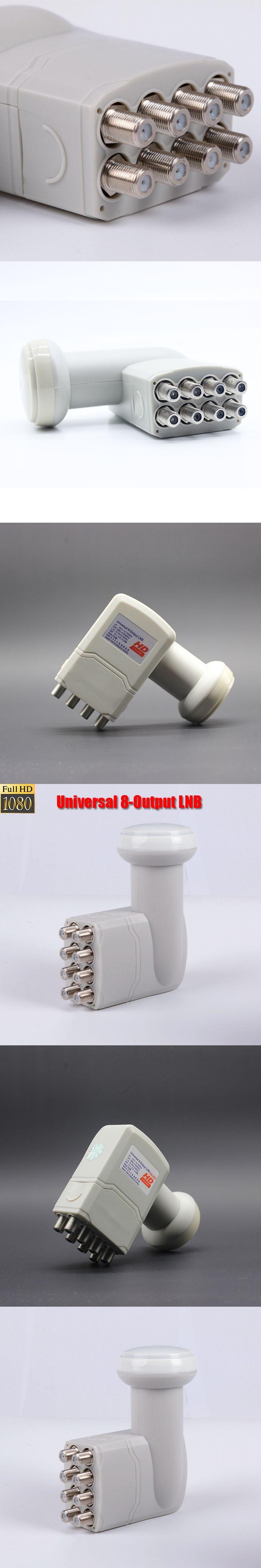 Universal 8 output lnb Extra high quality digital reception lnb for satellite tv dvbs2 ku band lnb universal ku band 8 lnb