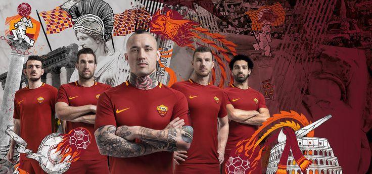 Maglia Roma 2017/18: un ritorno alla tradizione - http://www.contra-ataque.it/2017/05/25/maglia-roma-201718-nike.html