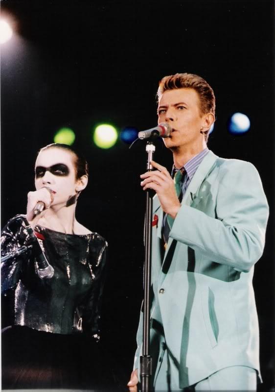 Annie Lennox, David Bowie