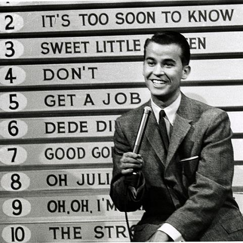 Saturdays American Bandstand Top Ten, 1958.