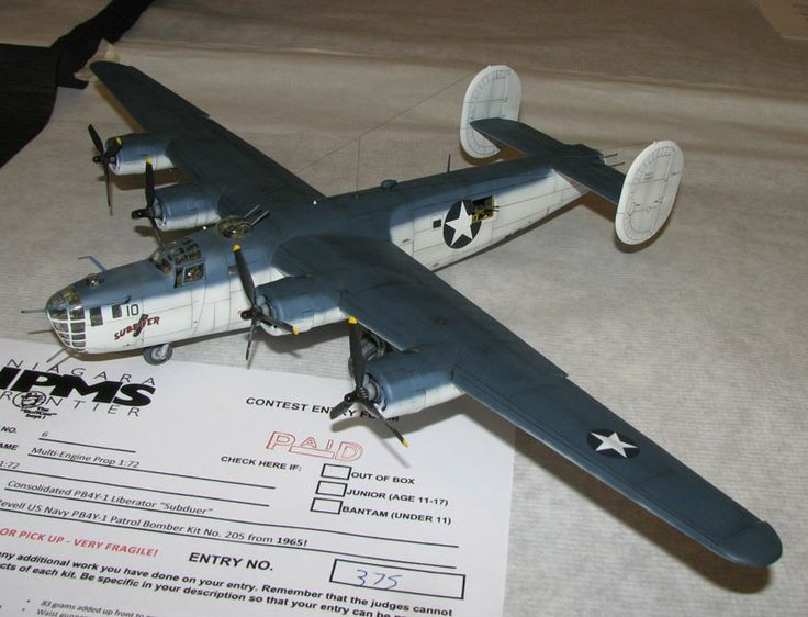 US Navy B-24 Liberator | BuffCon 2014 | Unknown scale