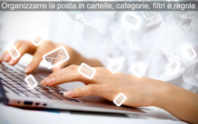 Organizzare la posta in entrata in cartelle e categorie (Outlook, Gmail) #email #hotmail #live #gmail #outlook