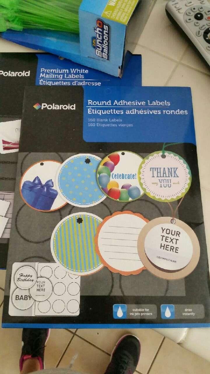 Round Adhesive Label Template Polaroid Letgo Ice Cream Sandwich Maker In Lane Ca Label Templates Printable Label Templates Round Labels Round adhesive labels polaroid template