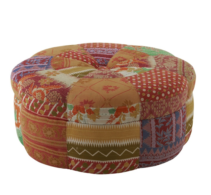 Marvelous #7038 Ottomans    Add A Bright Burst Of Bollywood To Todayu0027s Décor With This