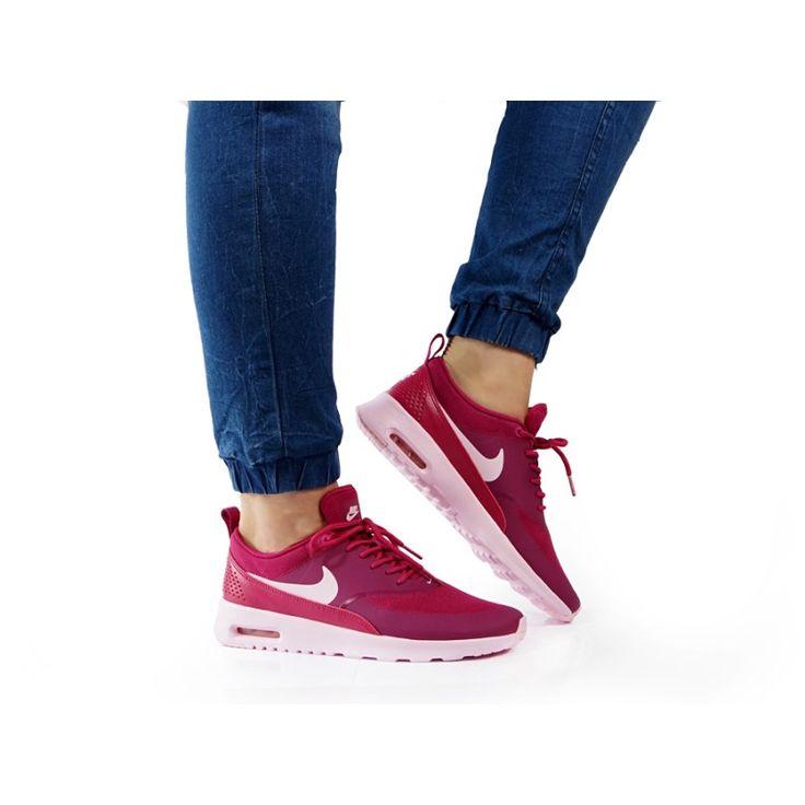 Nowa kolekcja Nike air max thea 599409-605 - Sneakersy damskie - solome.pl