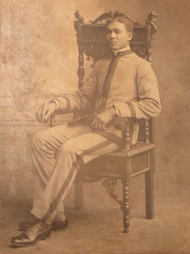 Henry Flipper Slave 1st Black African American West Point Grad Buffalo Soldier   eBay