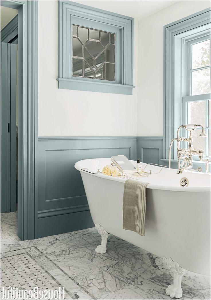 70 best bathroom colors paint color schemes for bathrooms from Best Color For Bathroom