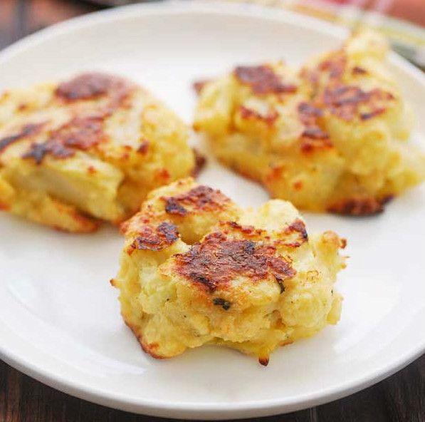 Τηγανίτες κουνουπιδιού με τυρί | InfoKids
