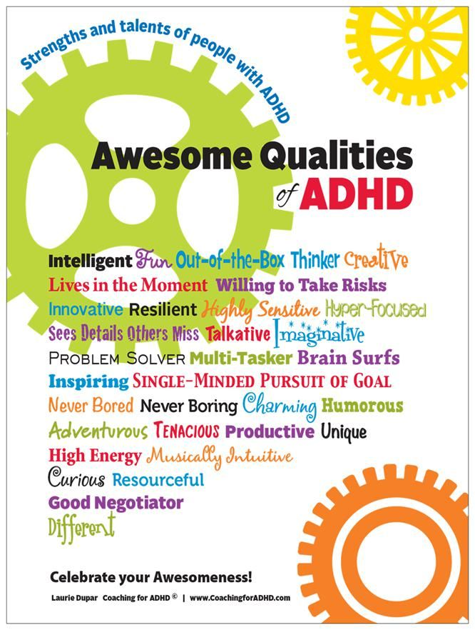 "Celebrate the Strengths of ADHD! - ADHD Kids Rock - ""Most of our focus is on the ""negative aspects and problems"" of ADHD and rarely are the strengths or positive qualities of ADHD appreciated or celebrated."""