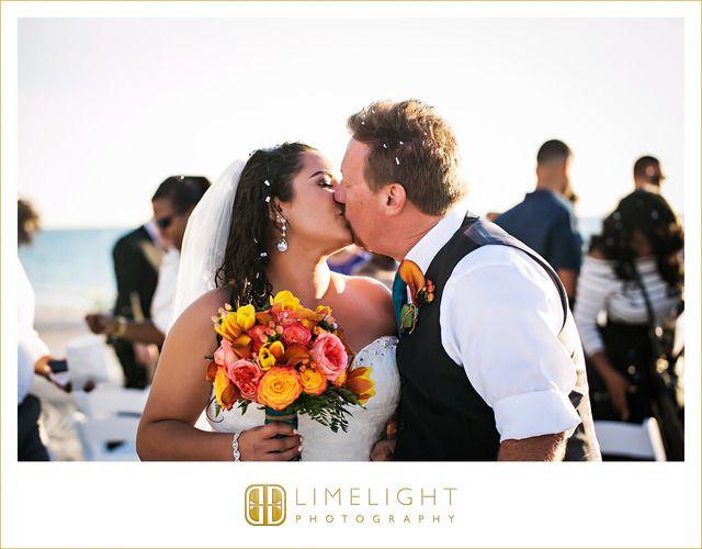 #wedding #weddingphotography #photography #florida #lidokey #sandcastleresort #lidobeach #resort #stepintothelimelight #limelightphotography  #groom #bride #husband #wife #weddinginspiration #beach #orange #teal #weddingdress #weddinggown #white #lace #alfredoangelo #design #dress #sunset #ceremony #family#palmtrees #sand #guests #royaleventsandservices #husband #wife #firstkiss #kiss #love #flowers #bouquet
