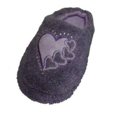 Madness Jr. Girl's Purple Plush Slippers (4906) Madness Jr.. $5.98