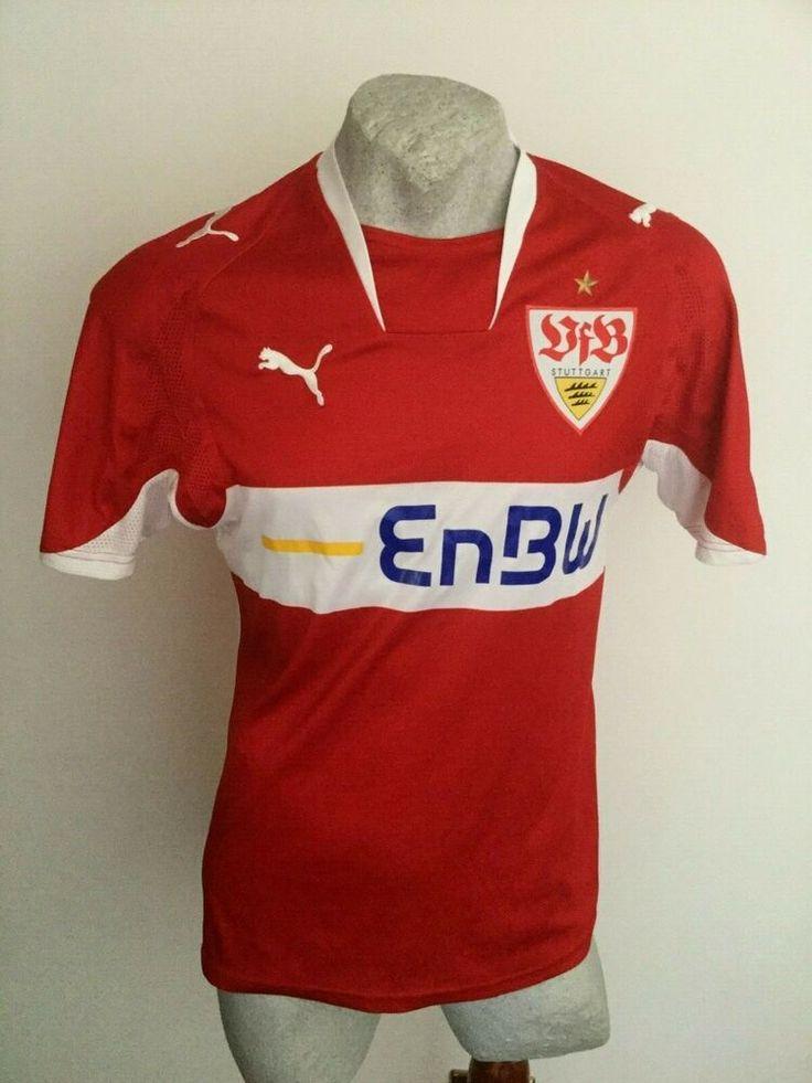 Maglia Calcio Puma Stuttgart Enbw Away Trikot Jersey Football Shirt 2006 Size M Maglia Calcio Maglie