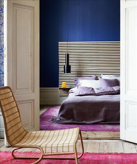 Mandal sänggavel i lackad furu, av Nike Karlsson, bredd 240cm, 895 kr, Ikea. Påslakan Soul, 1200k...