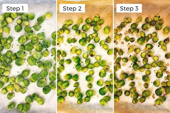 How to Cook Frozen Brussel Sprouts (air fryer, oven) | Bites of Wellness   – Clean Eating