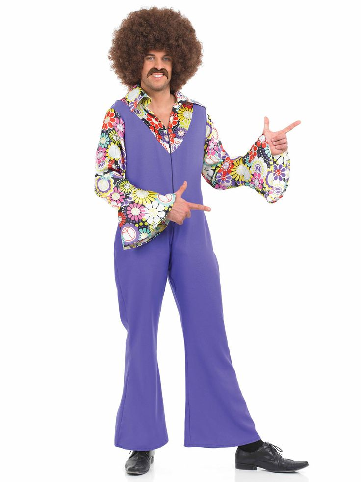 disco jumps men  mens fancy dress disco jumpsuit