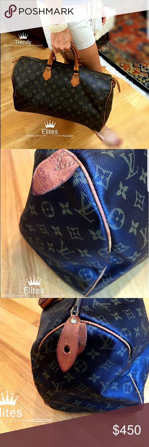 Authentic Louis Vuitton Speedy 40 Monogram Style Louis Vuitton Speedy 40 B Condition 100% Authentic Louis Vuitton Bags