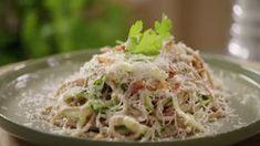 Pasta Carbonara à la Sandra Bekkari | VTM Koken