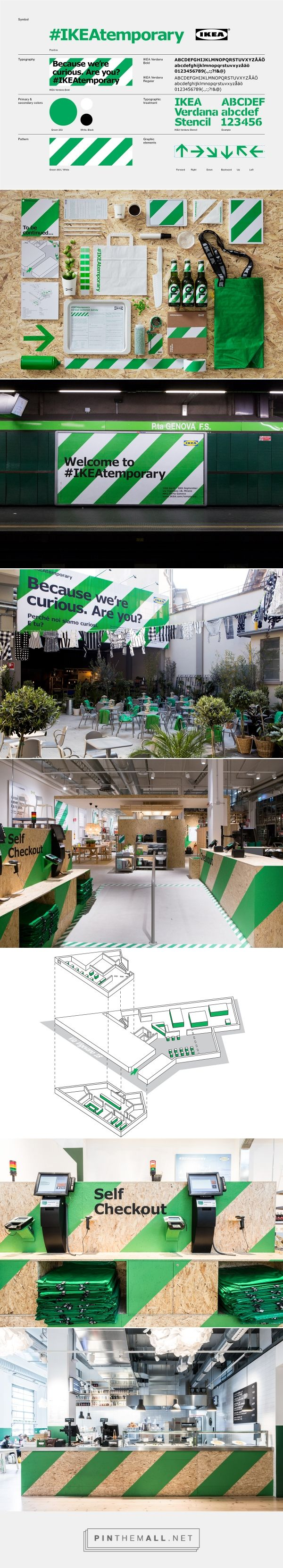 #IKEAtemporary on Behance... - a grouped images picture - Pin Them All