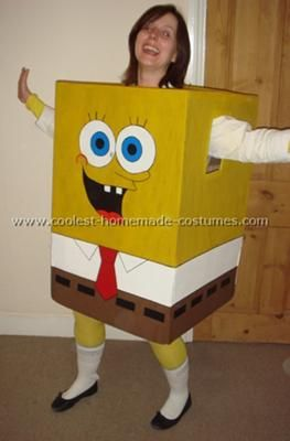 what a cool halloween costume, reminds me of the year i went as a traffic light lol.