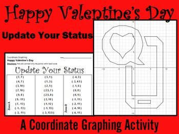 36 best images about valentine 39 s day coordinate graphing activities on pinterest to be. Black Bedroom Furniture Sets. Home Design Ideas