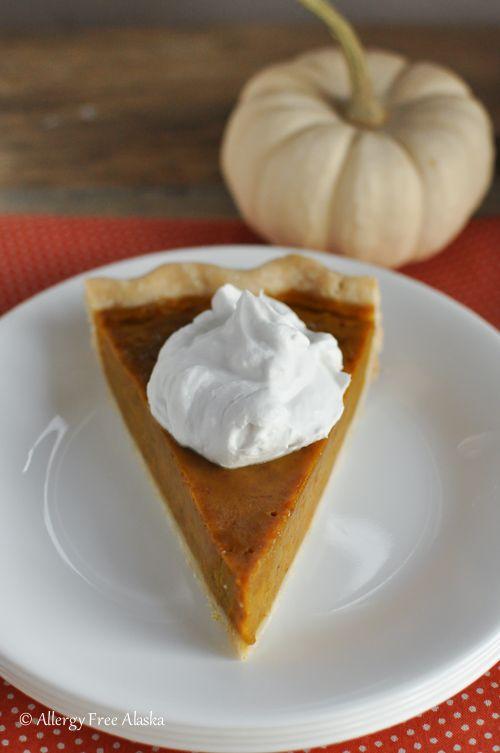 Gluten-Free Dairy-Free Maple Pumpkin Pie - Allergy Free Alaska
