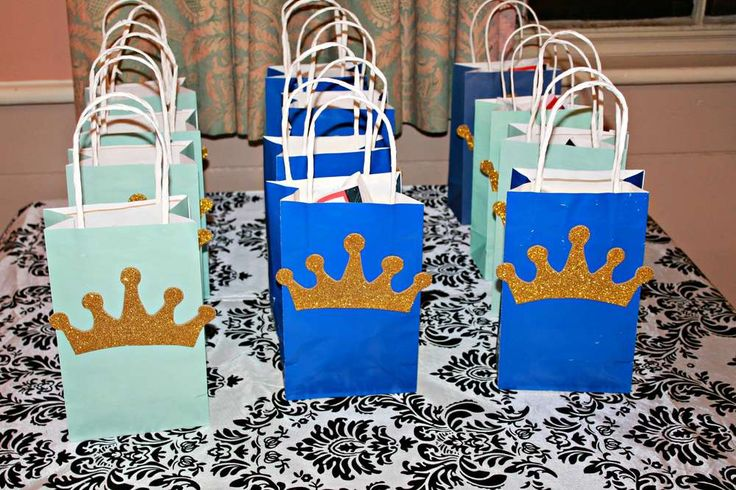 Royal, Prince Birthday Party Ideas | Photo 10 of 14 | Catch My Party