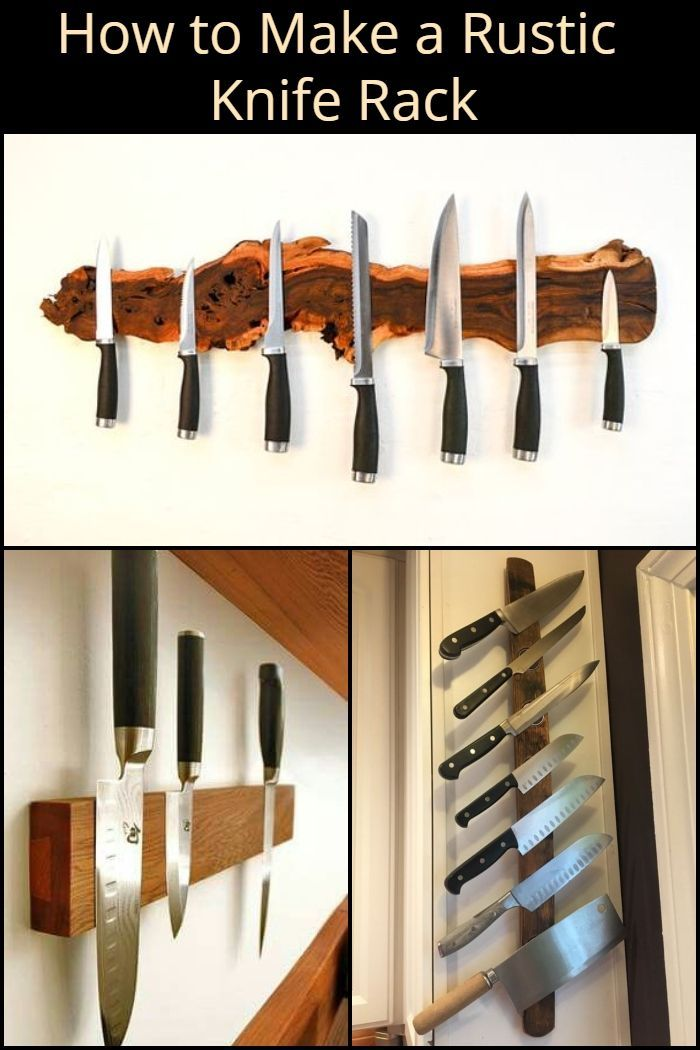 Pin By Bill Rechter On Furniture With Images Knife Rack