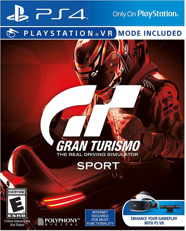 Gran Turismo Sport Game Cover PS4 Standard in 2020 Ps4