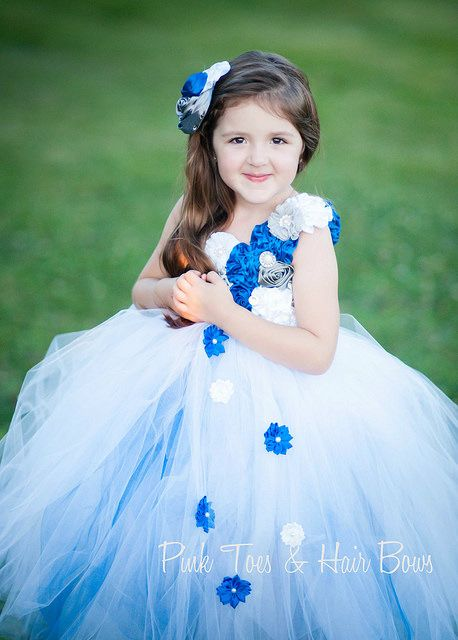 quotthe amy nicolequot royal blue white and silver couture