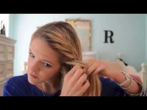 Four Ways to Braid Bangs! - YouTube