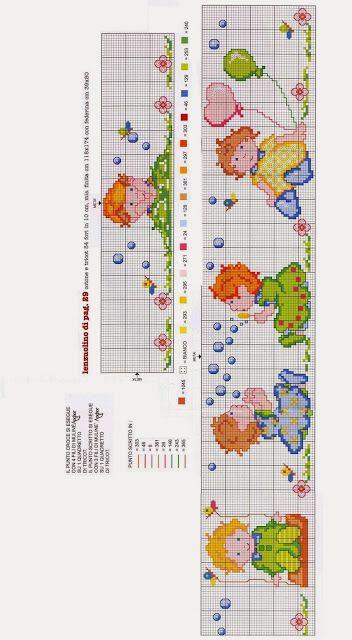 Punto croce schemi e ricami gratuiti tanti schemi punto for Punto a croce bambini