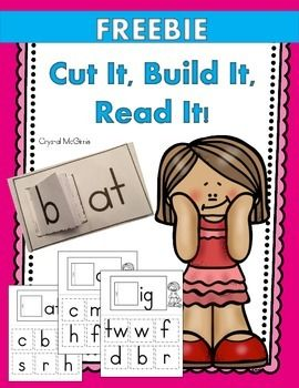 Many of my kinders still struggle with rhyming words. I created this set to help them understand that they can create rhyming words by simply changing the first letter. I will place these in my literacy center. Enjoy!