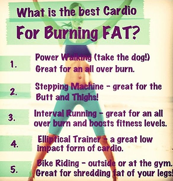 Cardio Workouts That Burn Fat: Best Fat Burning Cardio Ideas
