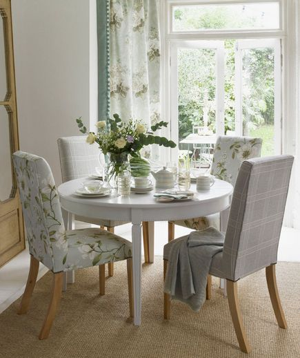 Dining Room Chair Fabric Ideas: 32 Elegant Ideas For Dining Rooms