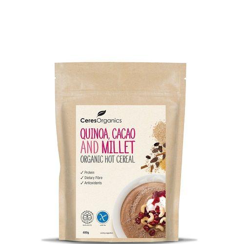 Organic Hot Cereal - Quinoa, Cacao & Millet - Ceres - Organic Food Distributors - Ceres Organics