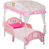 Found it at Wayfair - Disney Princess Toddler Bed with Canopy