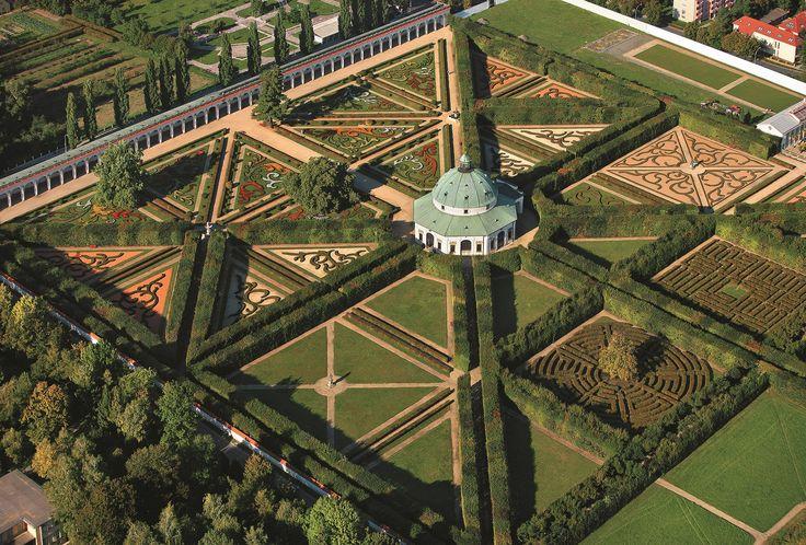 De tuinen en het kasteel van Kroměříž zijn een bijzonder compleet en goed bewaard gebleven voorbeeld van een Europese barokke prinselijke residentie met bijbehorende tuinen. Foto: Libor Sváček ©CzechTourism www.czechtourism.com