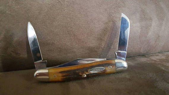1971 Case XX 53087 9 Dot Genuine India Stage 3 Blade Whittler