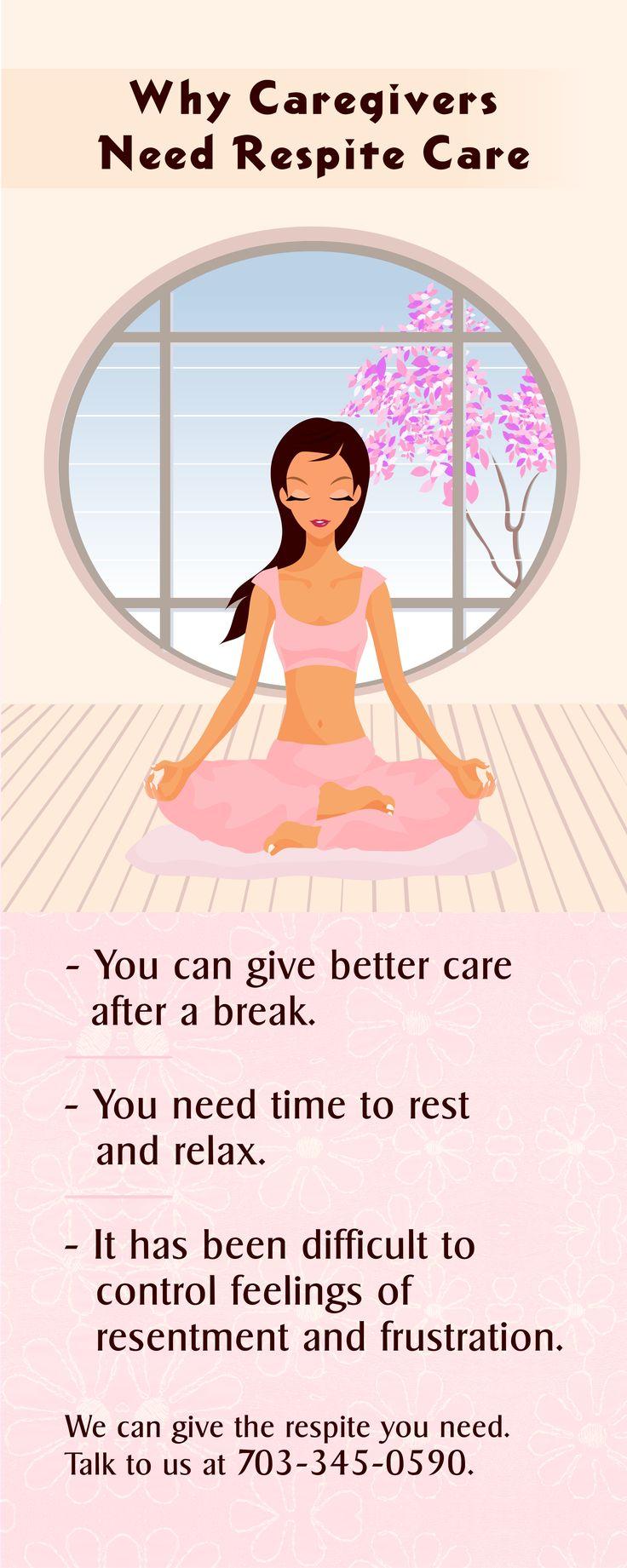 Why Caregivers Need Respite Care #caregiver #respitecare