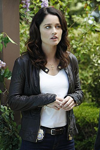 Robin Tunney as Teresa Lisbon in The Mentalist.