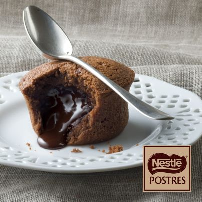 Coulants de chocolate intenso