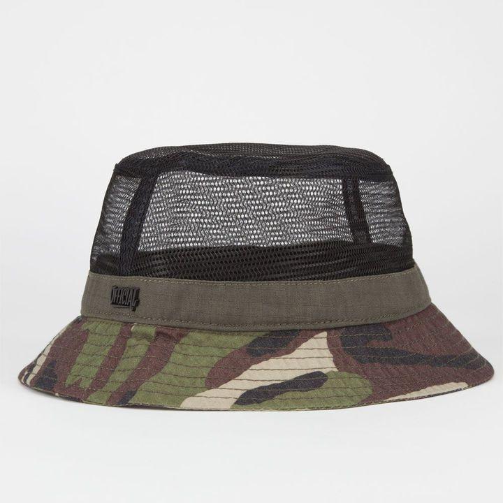 11d6931e40ff7a Camo OFFICIAL Mesh Mens Bucket Hat on shopstyle.com | ODE TO HATS | Mens  bucket hats, Hats, Bucket hat