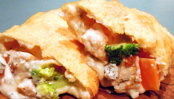 パンツェロッティ(チキンと野菜のゴルゴンゾーラチーズソース) :お取り寄せ【パンツェロッティ 3種セット ベローナ】