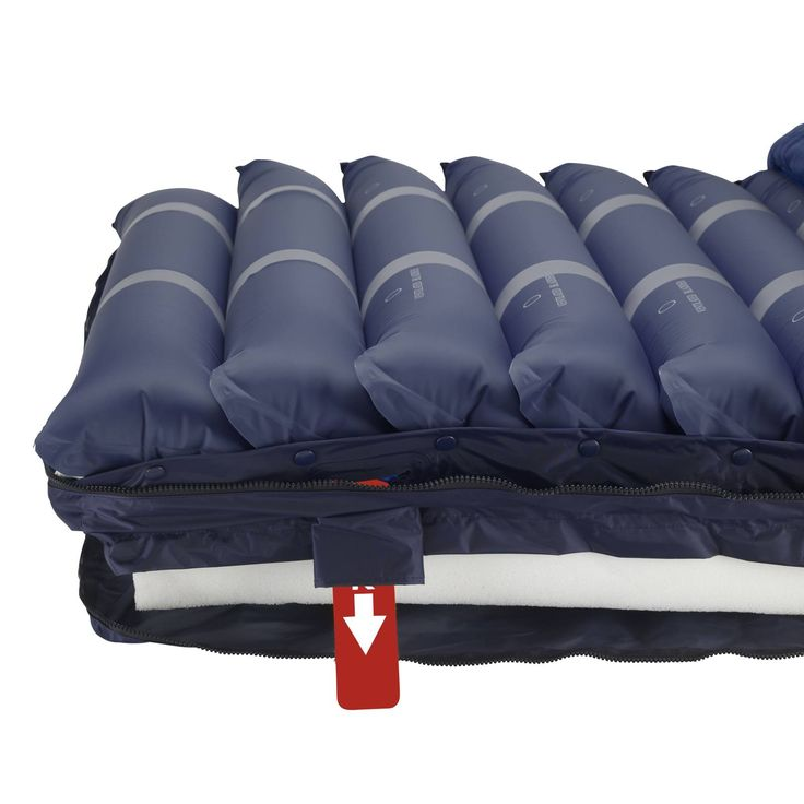 drive medical medaire assure air with foam base alternating pressure and low air loss mattress system model u2013